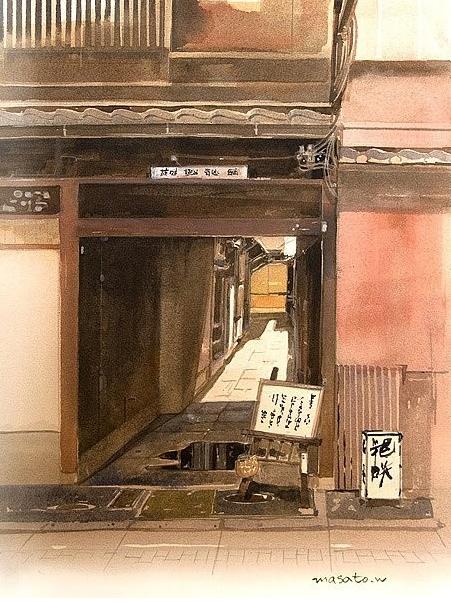 акварели Masato Watanabe