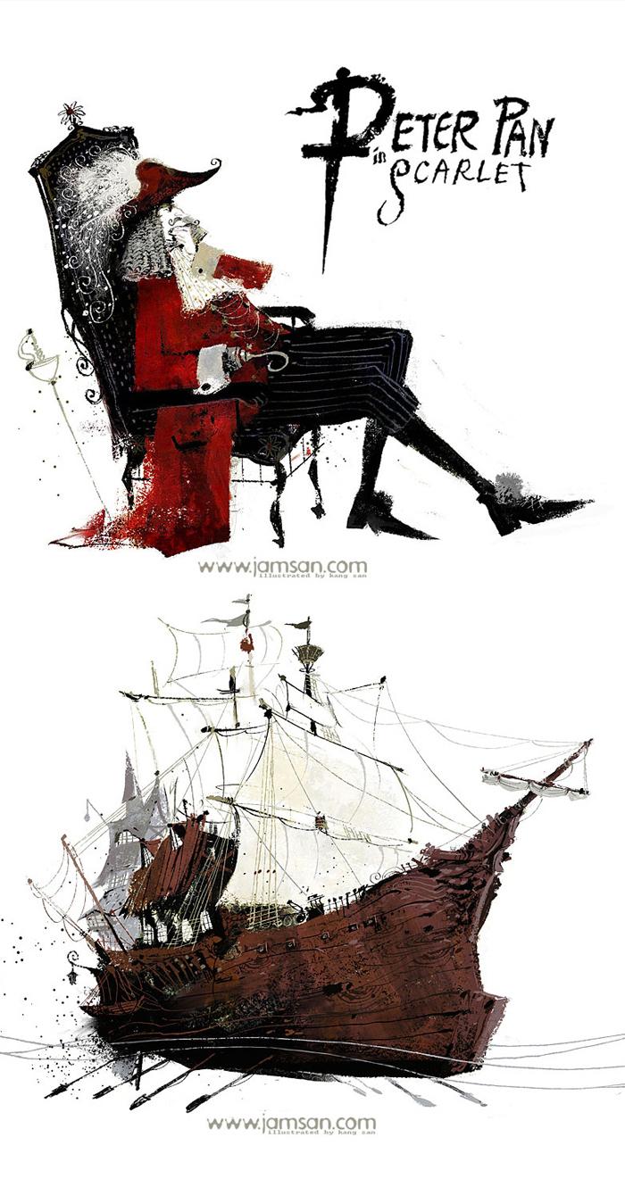 Иллюстрации, худжожник-иллюстратор Jam San, рисунки, книжная графика, обложка, детские книги