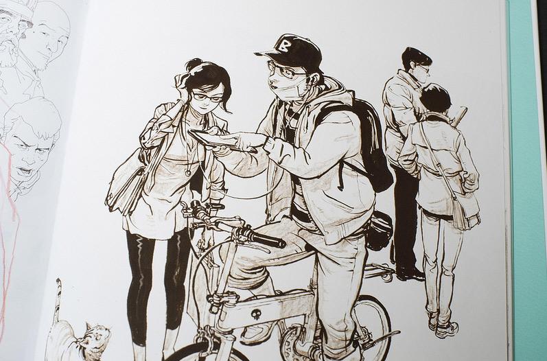 работы южнокорейского художника  Kim Jung-Gi
