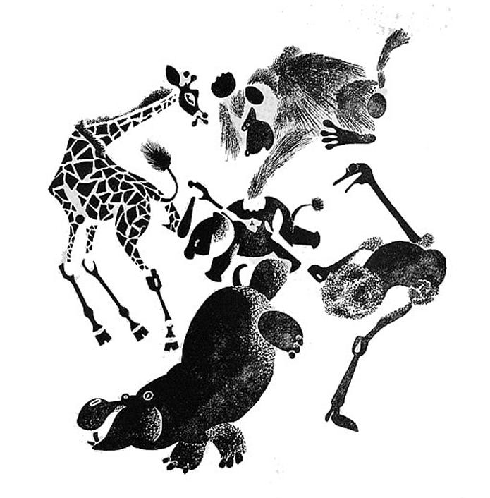 Иллюстрации Лебедева, Т. Никитина