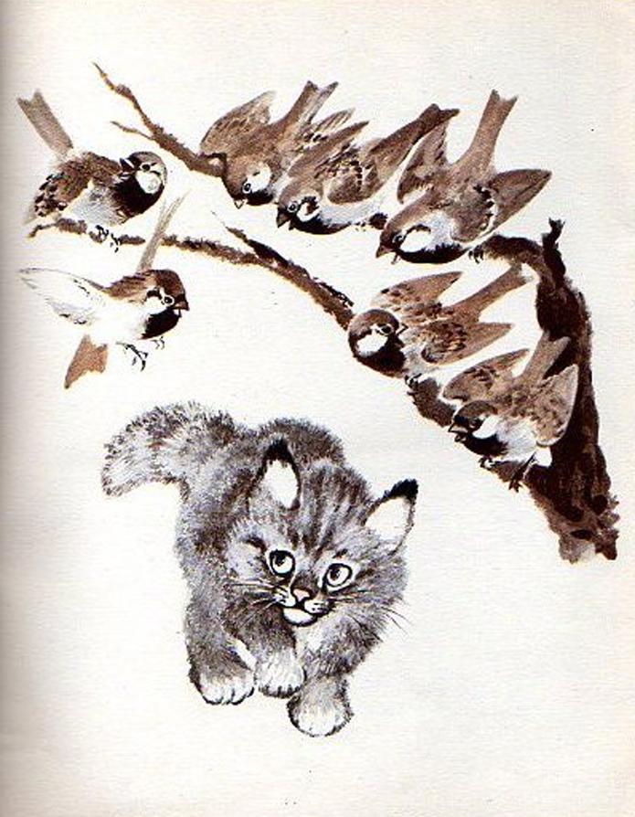 Е. И. Чарушин, иллюстрации, Т. Никитина