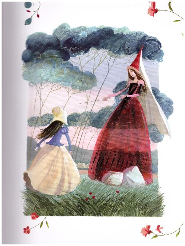 Иллюстрации Татьяны Никитиной к книге Волшебные сказки Франции