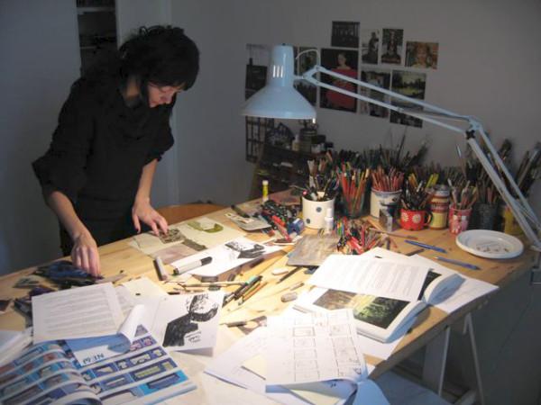 Беатрис Алемана,Вeatrice Alemagna,художник-иллюстратор
