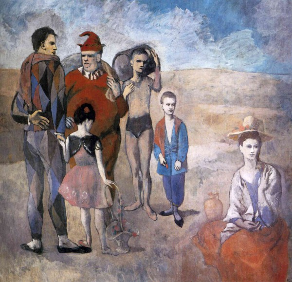 """""""Семейство комедиантов"""" 1905"""