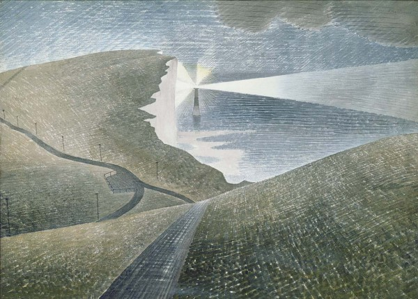 1939 Beachy Head watercolour