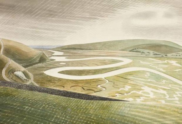 """Cuckmere Haven"" акварель 1939"