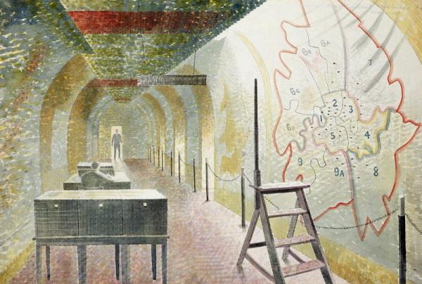 """""""No. 1 Map Corridor"""" 1940"""
