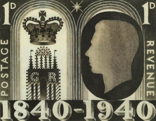1940 Un-adopted stamp design