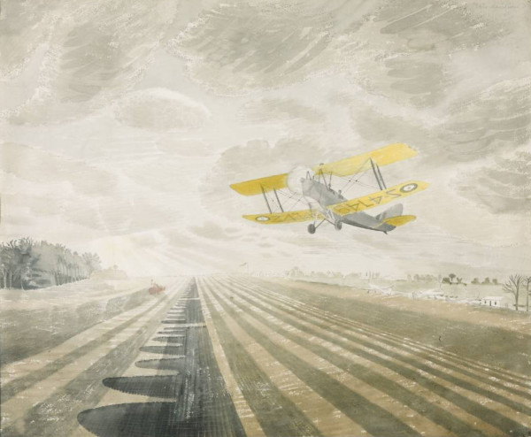 Tiger Moth 1942 by Eric Ravilious 1903-1942