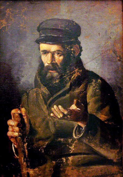 """""""Человек в шапке"""" 1895"""