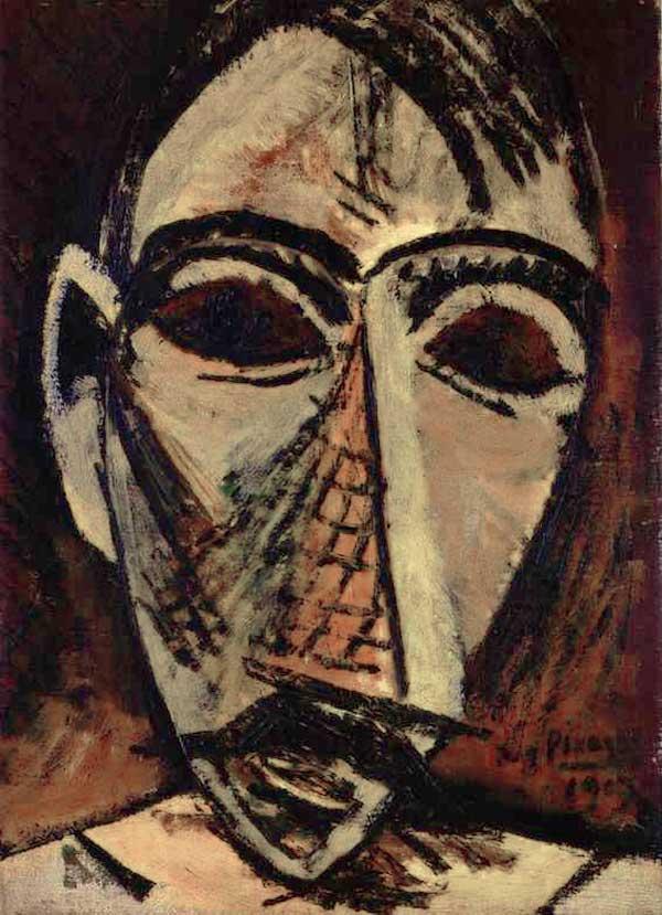 """""""Голова мужчины"""" 1907"""