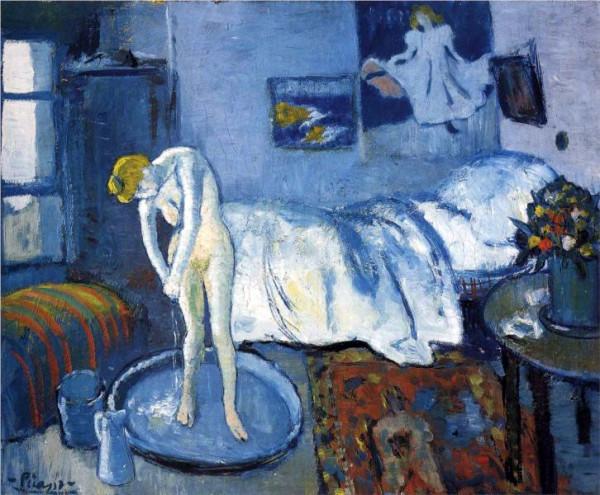"""Голубая комната (Ванна)"" 1901"