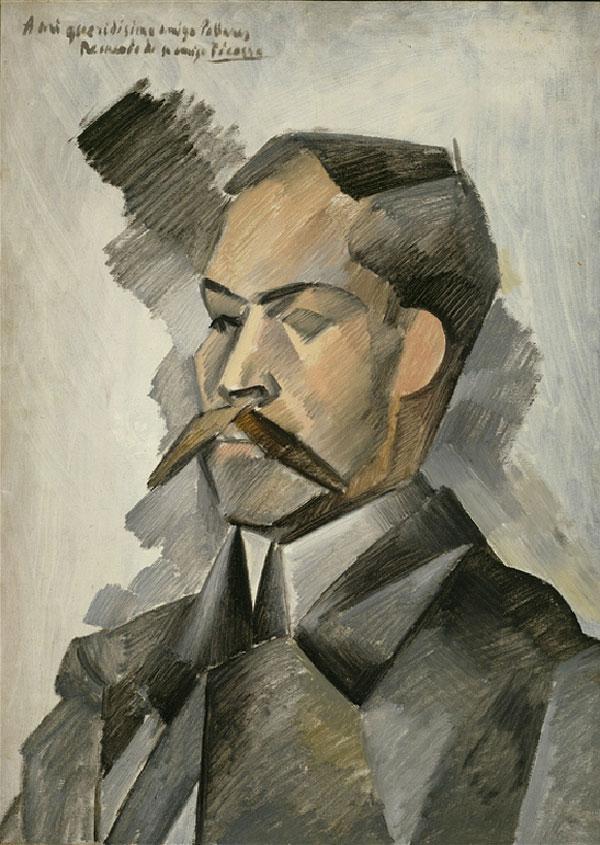 """""""Портрет Мануэля Пальяреса"""" 1909"""