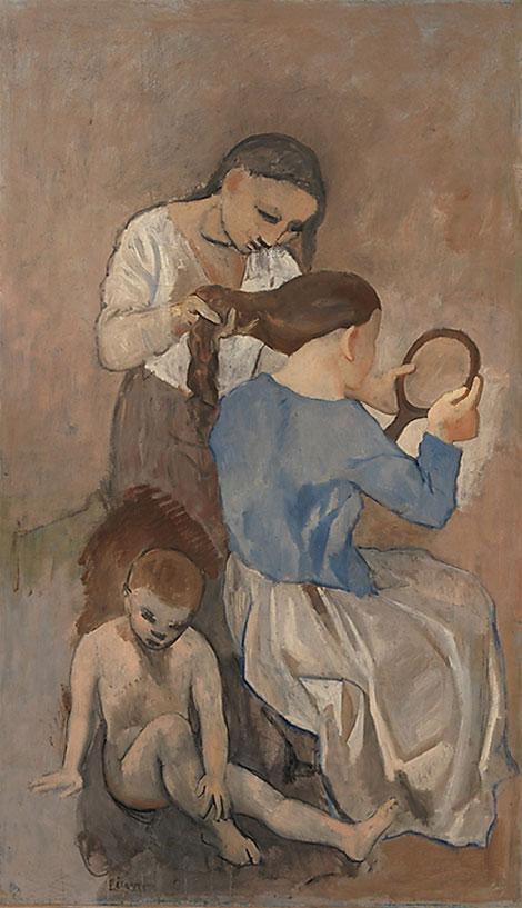 """""""Причесывание"""" 1906"""