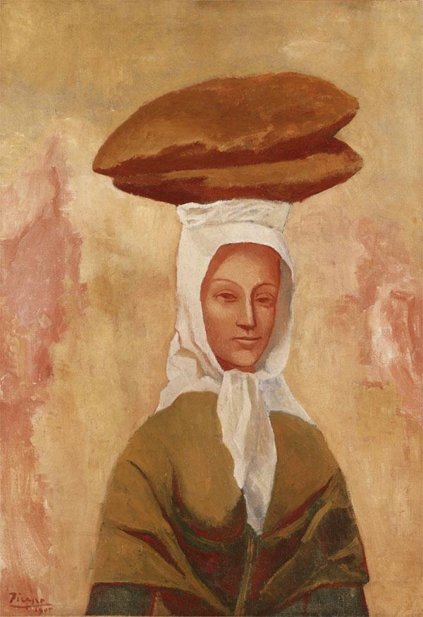 """""""Женщина с хлебом"""" 1905"""
