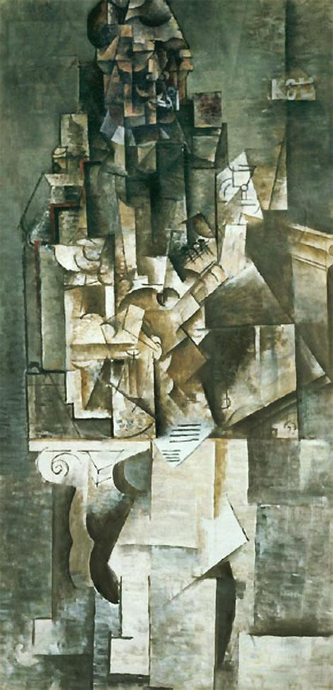 """""""Человек с гитарой"""" 1911"""