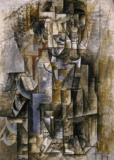"""""""Человек со скрипкой"""" 1912"""