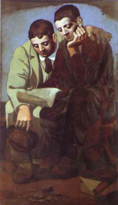 """""""Чтение письма"""" 1921"""