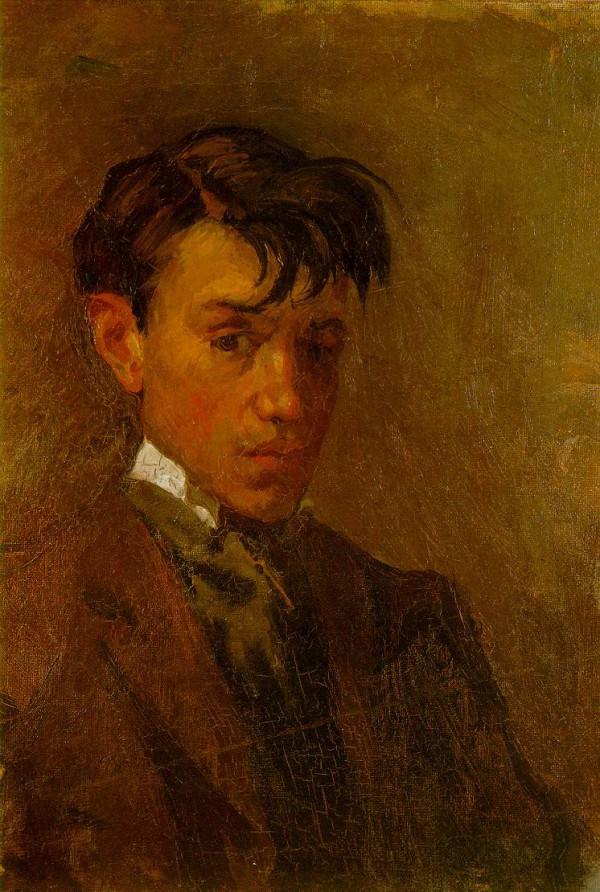 """""""Автопортрет"""" 1896"""