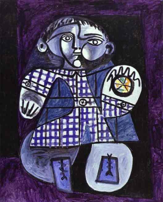 """""""Клод (сын Пикассо)"""" 1948"""
