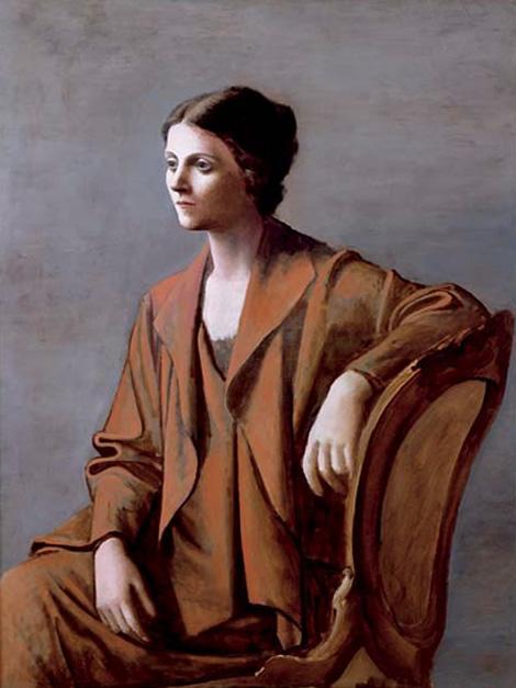 """""""Ольга Пикассо"""" 1923"""