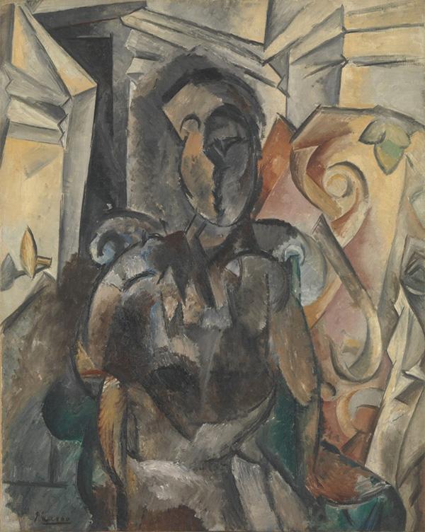 """""""Женщина в кресле"""" 1909"""