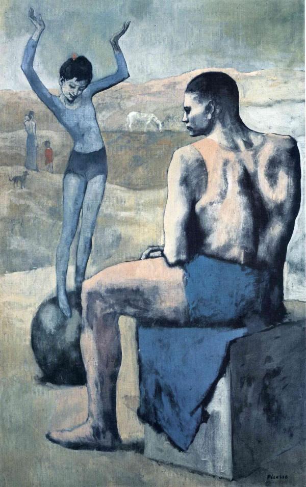 """""""Девочка на шаре"""" 1905"""
