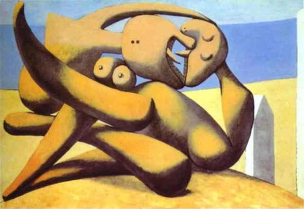 """Фигуры на пляже"" 1931"