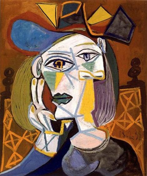 """""""Голова женщины в шляпе"""" 1939"""