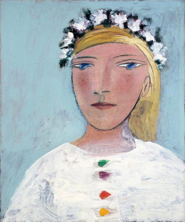 """""""Мария Тереза в венке"""" 1937"""