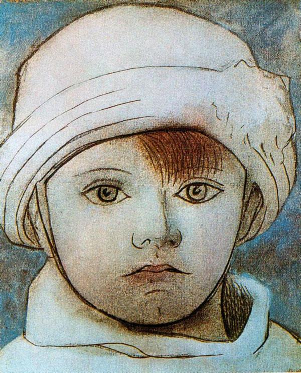 """""""Портрет Паула, сына художника"""" 1923"""