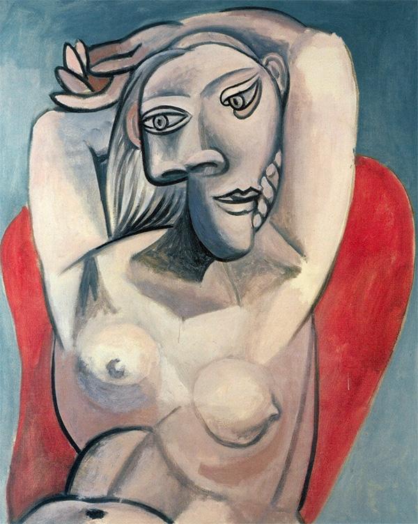"""""""Женщина в красном кресле"""" 1939"""