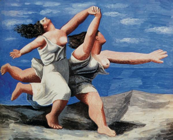 """""""Женщины, бегущие по берегу"""" 1922"""
