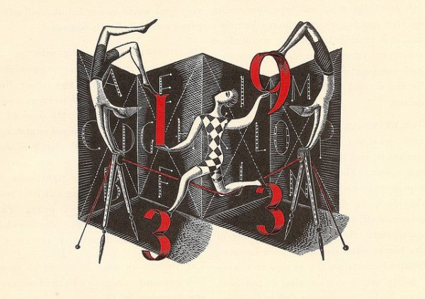 Illustrated alphabet - 1933