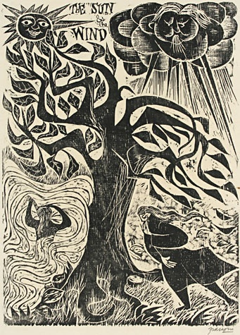 Antonio Frasconi, woodcut5