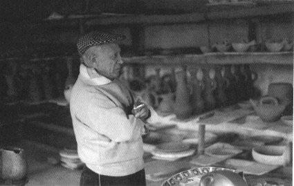 Пикассо в мастерской Мадура