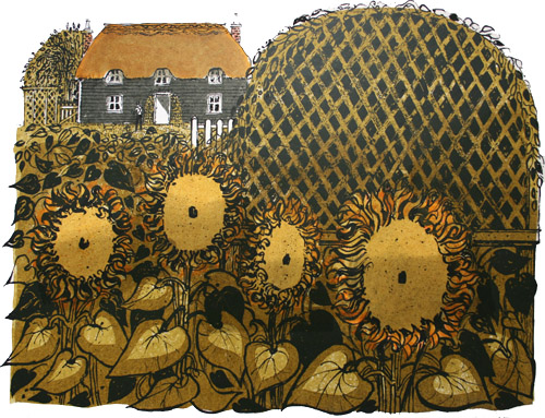 sunflowers_and_cottage