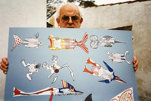 Ральф Стедман  - мультипликатор,иллюстратор и художник-карикатурист