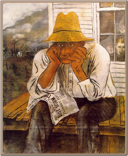 Бенджамин (Бен) Шан - один из крупнейших американских художников.