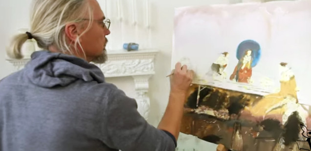 Морская картина на месте замри: «Застывшие мультики» «киношного человека» Александра Воцмуша
