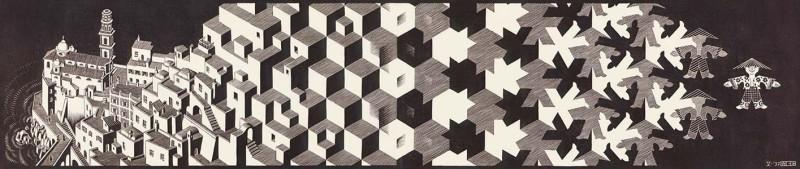 Escher-Metamorphosis-I-19371