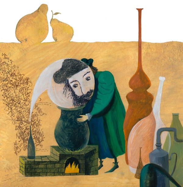 Иллюстрации Татьяны Никитиной к книге «Варенье Нострадамуса»