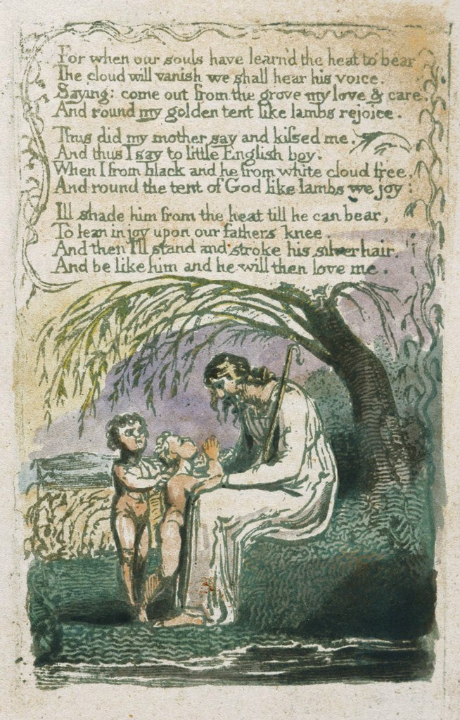 "an analysis of the theme of guardianship in the little black boy by william blake William blake's songs of innocence and experience the little black boy and a and in ""a little boy lost,"" blake shares his role as narrator with."