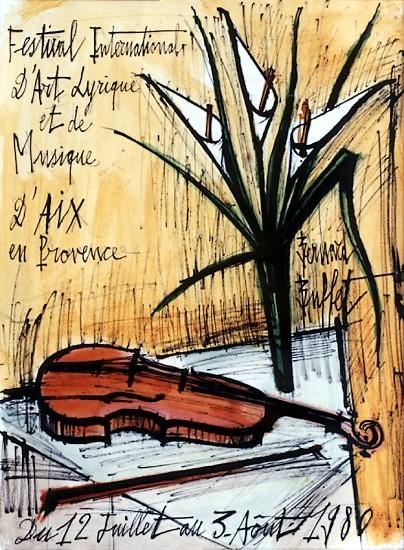 Бернар Бюффе - ведущий художник послевоенной Франции