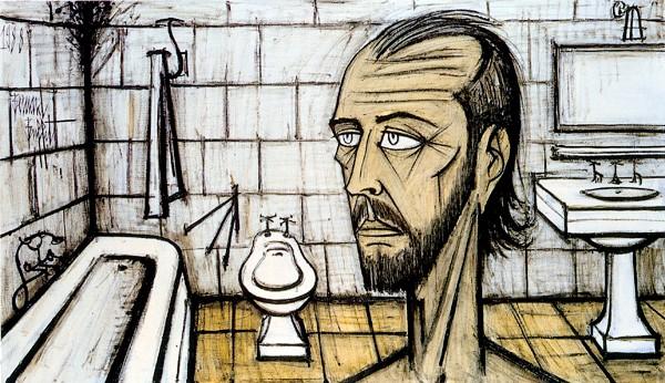 """""""Автопортрет в ванной комнате"""""""