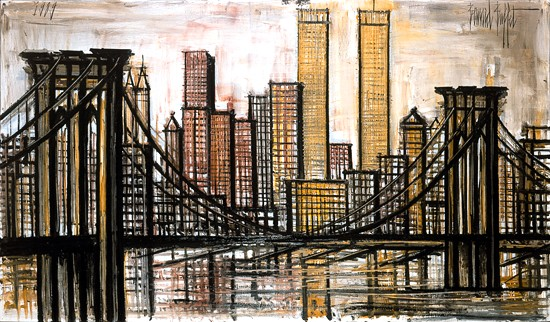 """Бруклинский мост, Нью-Йорк"""
