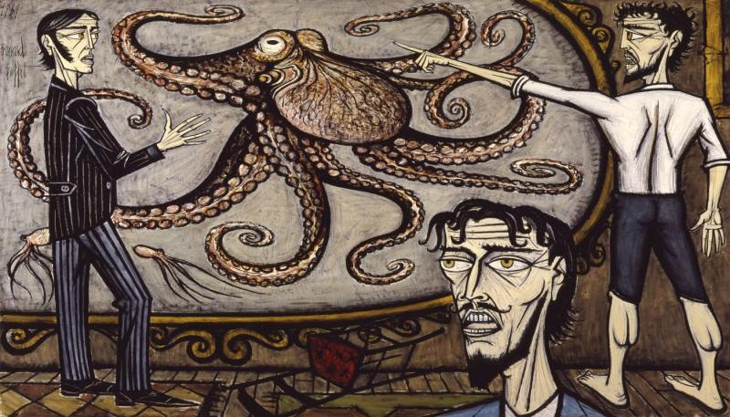 """""""Двадцать тысяч лье под водой: Гигантский осьминог"""""""