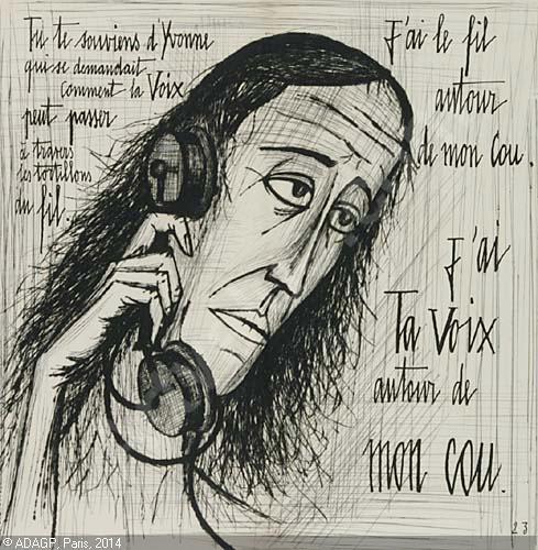 Иллюстрация к книге Жана Кокто