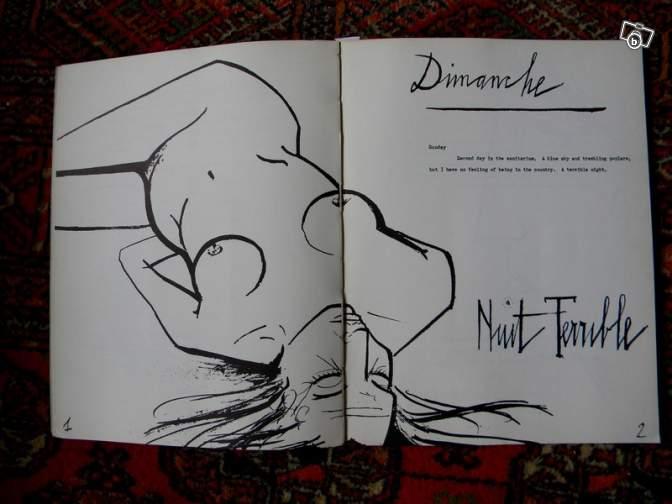 Иллюстрация к книге Франсуазы Саган