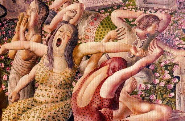 Стэнли Спенсер - английский художник Первой и Второй Мировых Войн